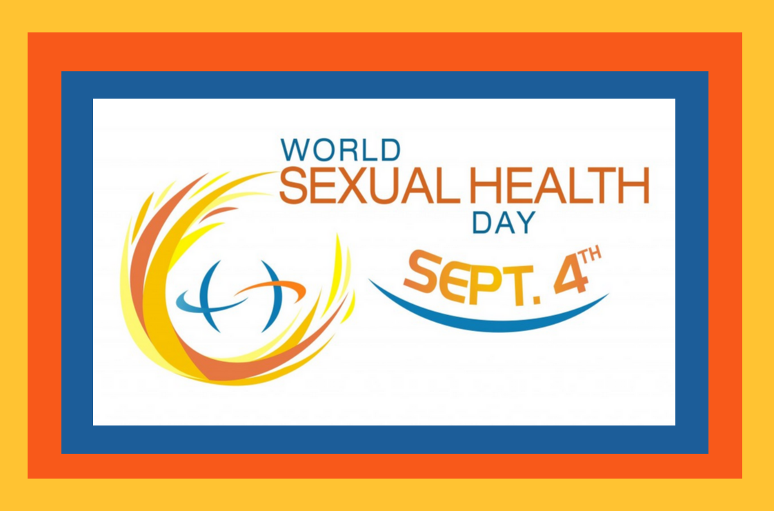 Banner for world sexual health day